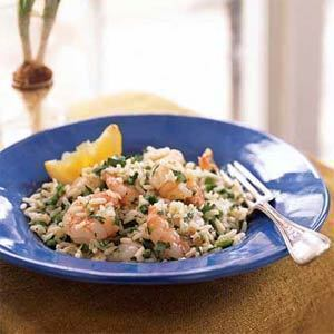 rice and shrimp salad